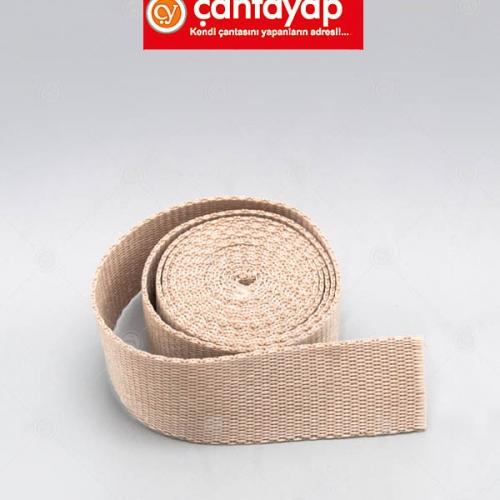 4 cm polyester kolon-krem