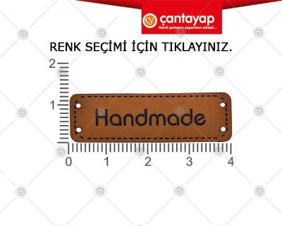 Handmade deri etiket